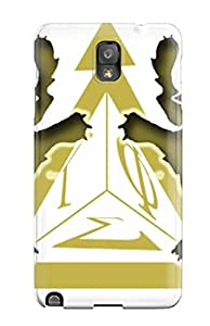 Premium Protection Tau Gamma Phi Logo Fraternities Case Cover For Galaxy Note 3- Retail Packaging