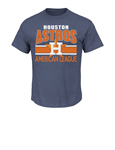 MLB Houston Astros Men's This Is My City Tee, Large, Navy Heather (Houston Astros Apparel)