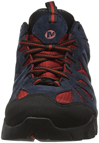 Randonnée Merrell Chaussures Navy Basses Capra Homme de Gris tex Bleu Gore XgUxXqwr