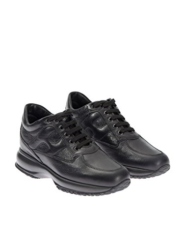 Hogan Sneakers Donna HXW00N00010DS8B999 Pelle Nero