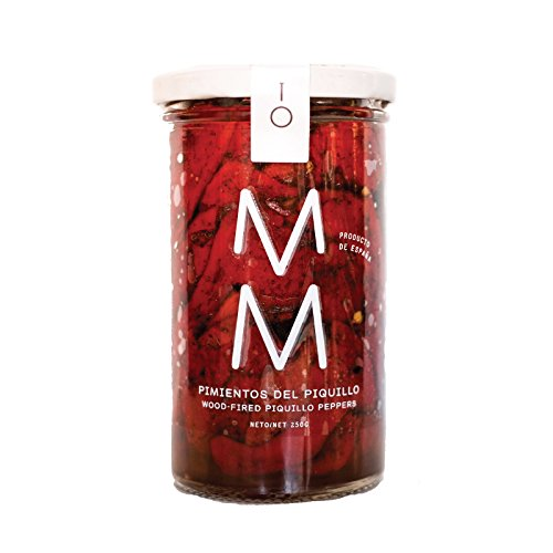 M M Pimientos del Piquillo - Wood-fired Piquillo Peppers