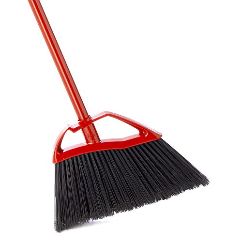 O-Cedar Fast 'N Easy Angle Broom - 100% Corn Broom