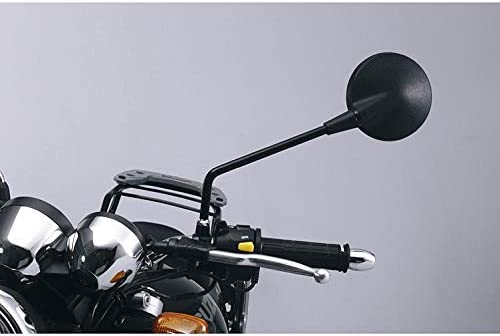 Kunststoff Ganzj/ährig Multipurpose Unisex Smat Nord Motorradspiegel Lenkerspiegel M10x1,25R ST22 /Ø120mm schwarz