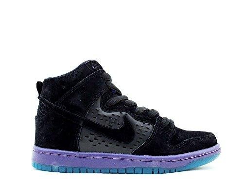 Nike Heren Dunk High Premium Sb Zwarte Druif Zwart / Zwart Druifijs Suède Maat 9