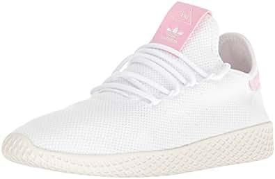 adidas Originals Women's PW Tennis HU W Sneaker, FTWR White, FTWR White, Chalk White_110, 6.5 M US