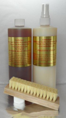 Leatherique Leather Rejuvenator/ Prestine Clean Pair 16 Oz