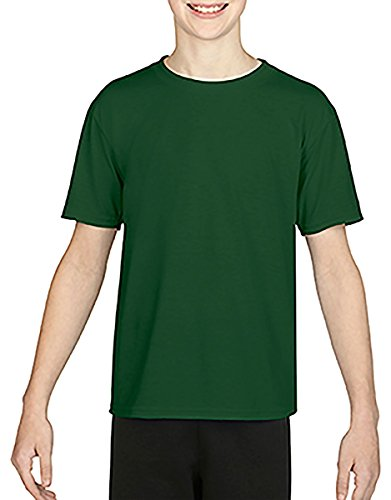 Gildan Youth Performance 47 oz Core T-Shirt - SPORT DARK GRE