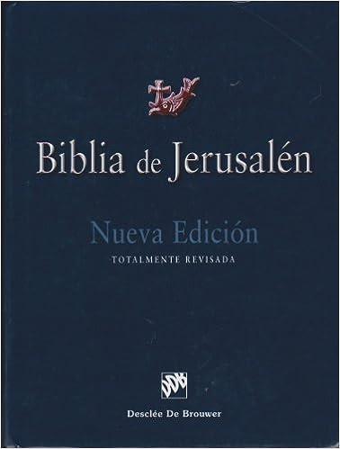 Biblia De Jerusalen 4ª Ed.Manu 1 Biblia de Jerusalén: Amazon ...