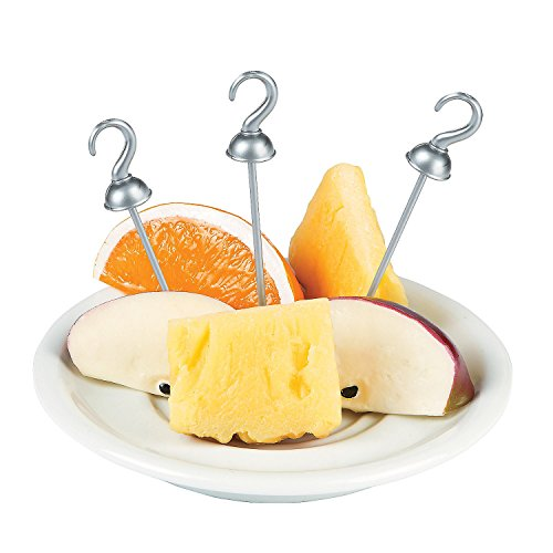 Captain Hook Pirate Party Food Appetizer Picks -
