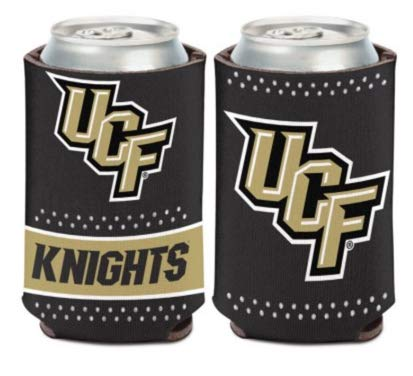 Wincraft NCAA University Central Florida UCF Knights Bling 1-Pack 12 oz. 2-Sided Can Cooler - Florida Kaddy