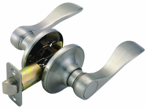 Design House 700484 Springdale 2-Way Adjustable Passage Door Handle, Satin ()
