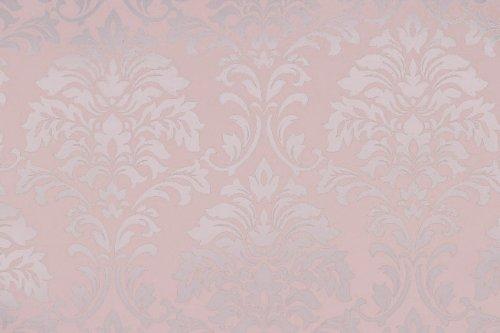 """Unterschiedlich PREMIUM Tapete """"Princess"""" Rosa Ornament glänzend: Amazon.de: Baumarkt LN08"""