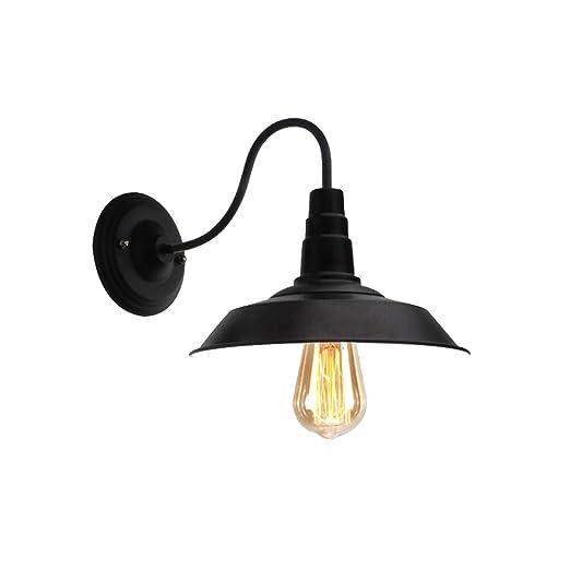 FISHD Lámpara de Pared de Interior Apliques Industriales Alambre ...