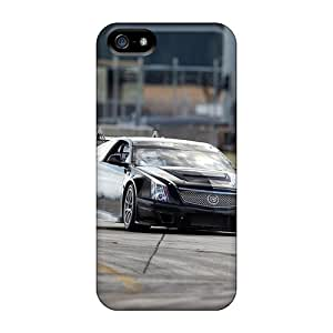 MansourMurray Iphone 5/5s Shock Absorbent Cell-phone Hard Covers Unique Design Nice Cadillac Cts V Series [ZtT7026YncG]