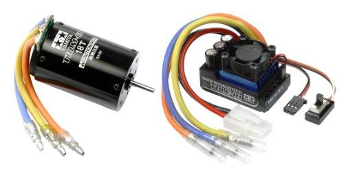 18t Brushless Motor - Brushless Motor 01 18T & ESC-01 Set (RC Model) by tamiya
