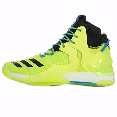 Jaune Basketball Rose adidas Chaussures 7 Homme D Primeknit Performance de qwfzA7x4f