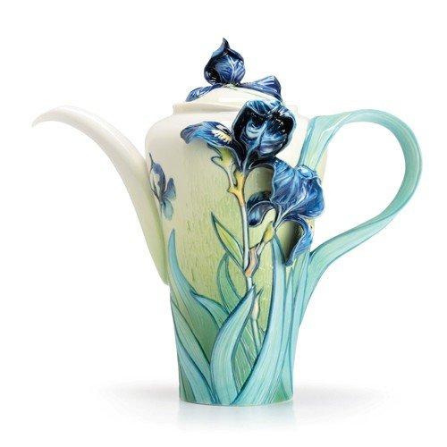 Franz Collection Van Gogh Iris Teapot