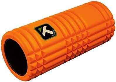 Trigger Point GRID Foam Roller with Free Online Instructional Videos, Original (13-inch), Orange