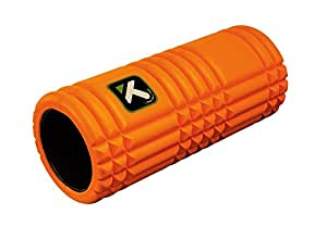Trigger Point GRID Foam Roller with Free Online Instructional Videos, Original (13-inch), Orange