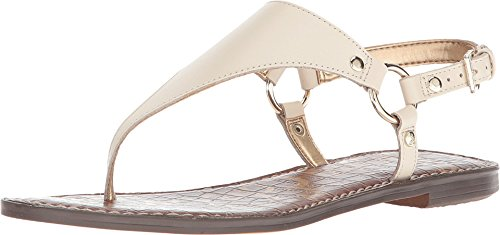 (Sam Edelman Women's Greta Modern Ivory Vaquero Saddle Leather 6.5 M US)