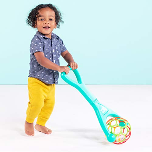 41ZkzdHq fL - Bright Starts Oball 2-in-1 Roller Sit-to-Stand Push Toy