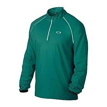 Oakley Mens Theo 1/4 Zip Golf Sweater Sweatshirt Small Aurora Blue