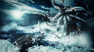 Rise of Cthulhu (Limited Edition on Canvas - 8x15 in.) by