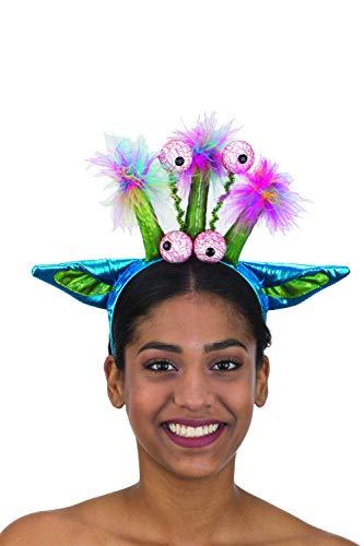 Super Funny 4 Eyed Alien Shiny Headband