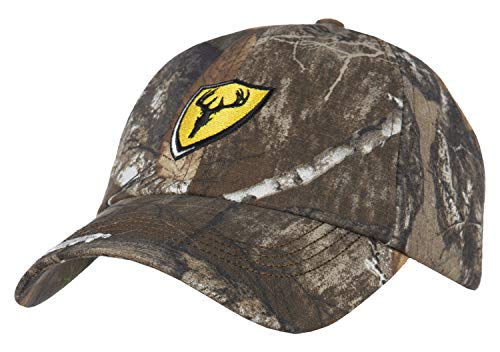 Scent Blocker Ball Cap Ripstop Fabric Recon Hat Shield Series, Adjustable, Trinity Technology Advanced Odor Control - One Size - Mossy Oak Country (Scent Blocker Ripstop)