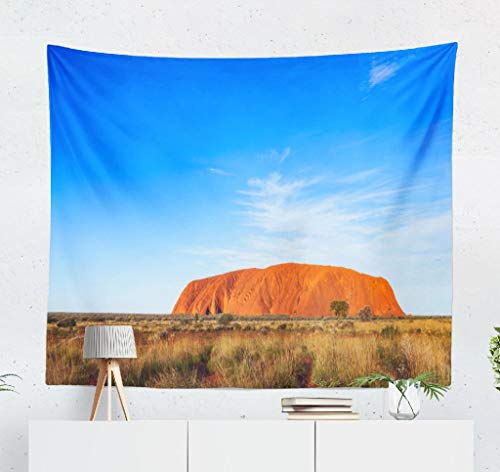 KJONG Rock Sandstone Rock National Park Northern Territory Australia Australia Decorative Tapestry,50X60 Inches Wall Hanging Tapestry for Bedroom Living Room ()