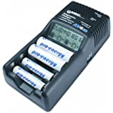 MEC-Energietechnik AV4M Diagnoseladegerät mit Kfz-Adapter (LCD-Display, Entladfunktion)