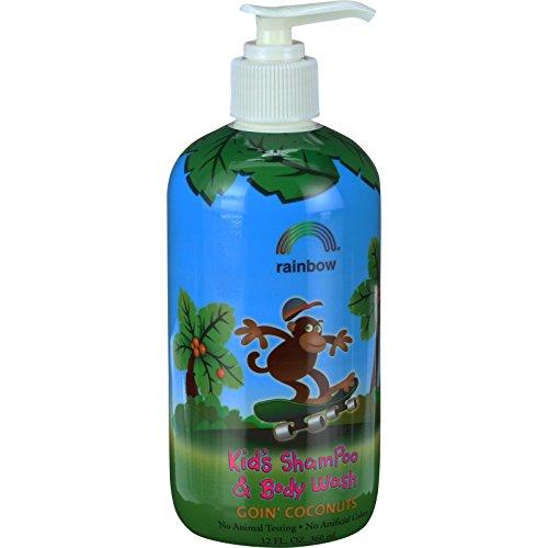 Cheap Kids Shampoo Body Wash Goin' Coconuts Rainbow Research 12 oz Liquid