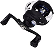 Fishing Reels, Low-Profile Reel Right/Left Handed Lure Baitcasting Reel with Magnetic Braking System for Fishi