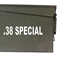 """FGD .38 Special Ammo Box Decal Sticker Label Set Two 6.5""""x 1.5"""" One 5""""x0.75"""" (Labels Only Ammo Can NOT Included)"""