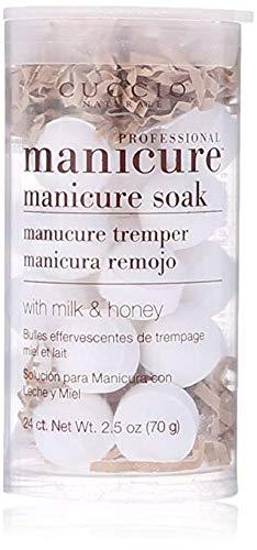 Cuccio Milk and Honey Manicure Soak Balls, 2.5 Ounce ()