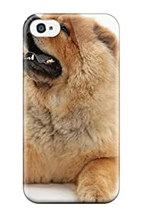 Donald Dickson Design Chow Chow Dog Cover Case With Excellent Style For Iphone 4/4s Sending Free Screen Protector