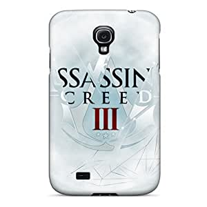 For Galaxy Case, High Quality Assassins Creed 3 For Galaxy S4 Cover Cases