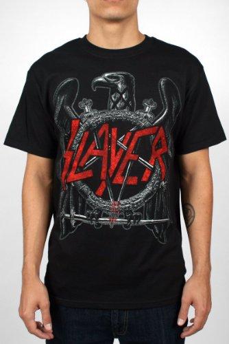 Slayer - Eagle T-Shirt (Black) - 5