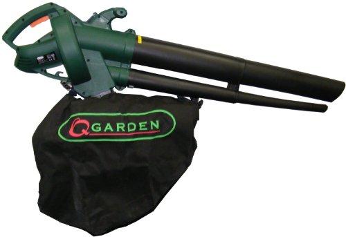-[ Q Garden QGBV2500 Leaf Blower Vacuum - Green/ Black  ]-