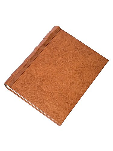 Golden leather photo album by Cozzi Legatoria
