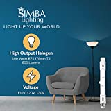 Simba Lighting Halogen R7S 78mm T3 100W Dimmable