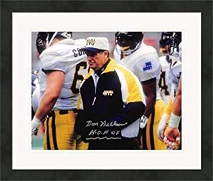 Don Nehlen Autographed 8x10 Photo West Virginia
