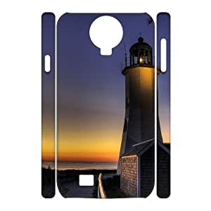 Lighthouse Unique Design 3D Cover Case for SamSung Galaxy S4 I9500,custom cover case ygtg545669