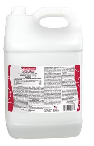 Micro-Scientific Opti-Cide3 Disinfectant, 2(1/2); Gallon & Spigot, 2/cs OCP02-320