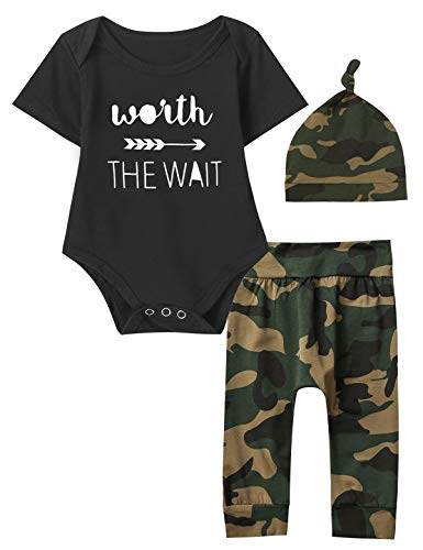 Infant Newborn Camouflage Outfit...