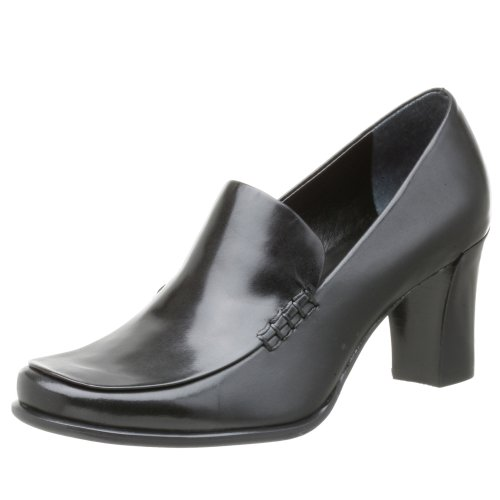 Franco Sarto Women's Nolan Tailored Slip-on Pump,Black ,8.5 M