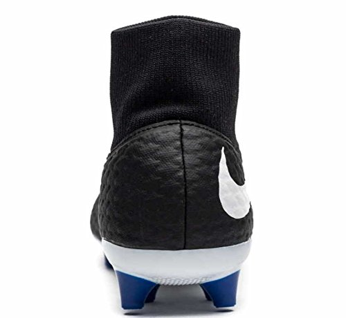 Nike Sg Hypervenom gioco Football De nero Df Chaussures Noir Bianco Homme Reale Phelon 3 r1rUwZq