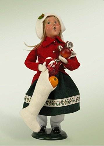 Town Crier Costumes (Byers Choice Town Crier Girl with Christmas Treats 2015)