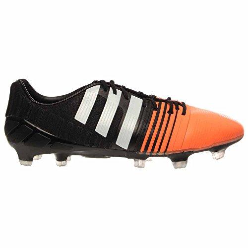 Adidas Nitrocharge 1,0 Fg Soccer Cleat (zwart, Oranje Knipperen, Wit) Zwart