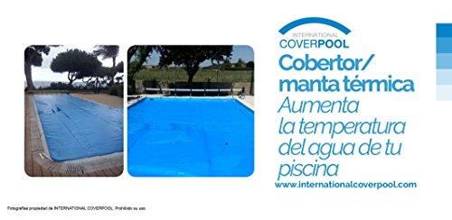 Couvertures thermique 5 x renfort 11 mètres avec renfort x dans les deux côtés étroits 600 microns épaisseur piscine a0d36b